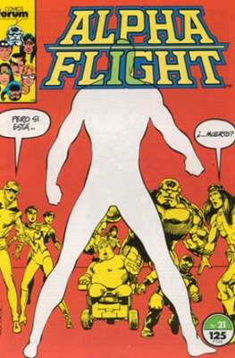 Alpha Flight vol. 1 / Marvel Two-in-one: Alpha Flight & La Masa vol.1 (1985-1992) (Grapa 32-64 pp) #21