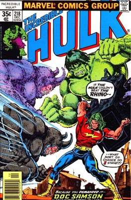 The Incredible Hulk Vol. 1 (1962-1999) (Comic Book) #218