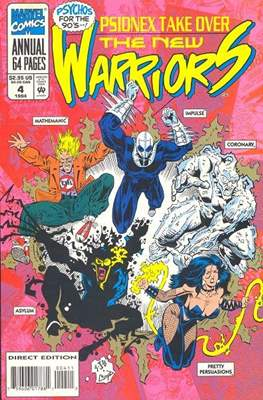 The New Warriors Annual Vol 1 (Comic-Book) #4