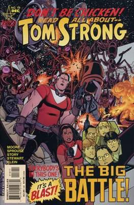 Tom Strong (Comic Book) #18