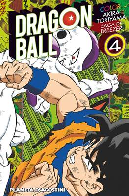 Dragon Ball Color: Saga de Freezer (Rústica con sobrecubierta) #4