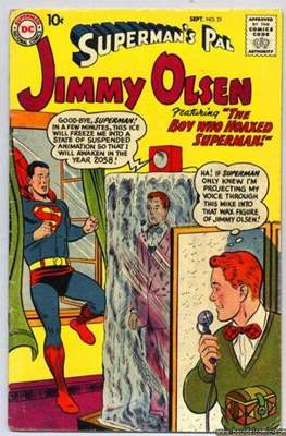 Superman's Pal, Jimmy Olsen / The Superman Family (Comic Book) #31