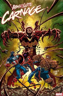 Absolute Carnage (Variant Cover) #3.2