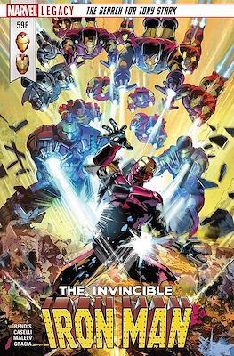Invincible Iron Man Vol. 4 (Comic Book) #596