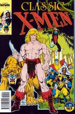 Classic X-Men Vol. 1 (1988-1992) (Grapa 32 pp) #21