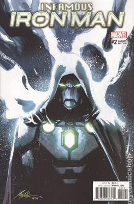 Infamous Iron Man Vol. 1 (Variant Covers) #2.1