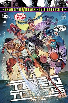 Teen Titans Vol. 6 (2016-) (Comic Book) #34