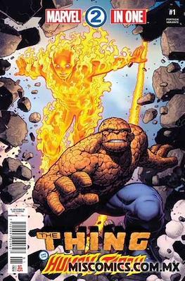 Marvel 2-In-One (2018-2019 Portada variante) (Grapa) #1.1