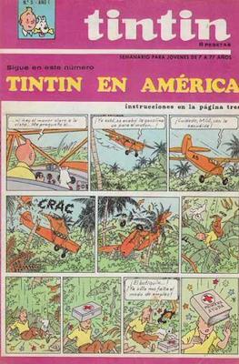 Tintin (Grapa 20 pags.) #5