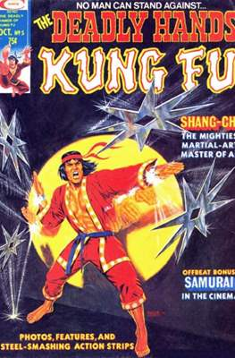 Deadly Hands of Kung Fu Vol 1 #5
