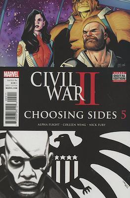 Civil War II: Choosing Sides (Comic Book) #5