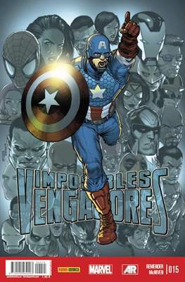 Imposibles Vengadores (2013-2018) (Grapa) #15