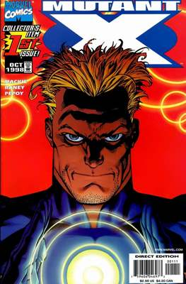 Mutant X (1998-2001 Variant Covers) (Comic Book) #1