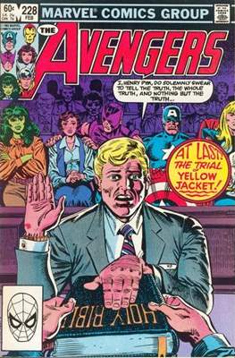 The Avengers Vol. 1 (1963-1996) (Comic Book) #228