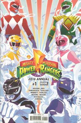 Mighty Morphin Power Rangers Annual (2016-) (Comic book) #1