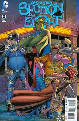 All Star Section Eight (Comic - book) #3