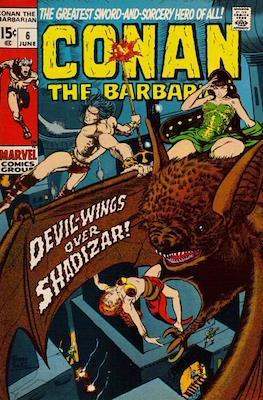 Conan The Barbarian (1970-1993) #6