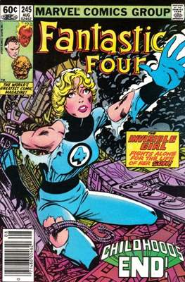 Fantastic Four Vol. 1 (1961-1996) (saddle-stitched) #245