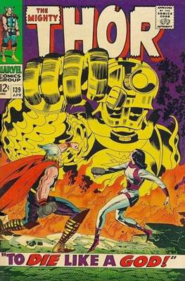 Journey into Mystery / Thor Vol 1 (Comic Book) #139