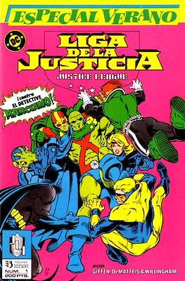 Liga de la Justicia / Liga de la Justicia internacional / Liga de la Justicia de America. Especiales (1988-1991) (Grapa) #1