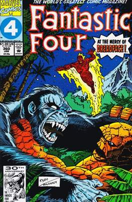 Fantastic Four Vol. 1 (1961-1996) (saddle-stitched) #360