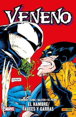 Veneno: El hambre / Fauces y garras. 100% Marvel HC (Cartoné 176 pp) #