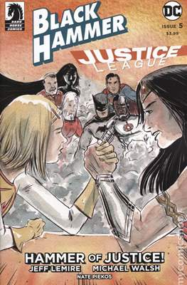 Black Hammer / Justice League: Hammer of Justice (Variant Cover) (Comic Book) #5.1