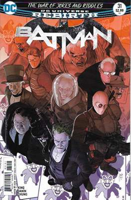 Batman Vol. 3 (2016-) (Comic Book) #31
