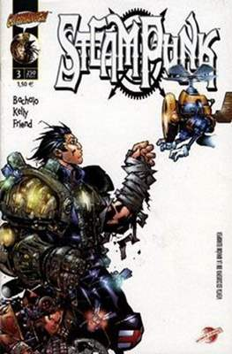 Steampunk (2001-2002) (Grapa 24-32 pp) #3