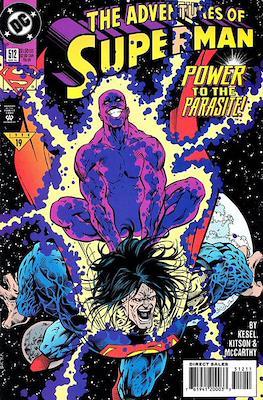 Superman Vol. 1 / Adventures of Superman Vol. 1 (1939-2011) (Comic Book) #512