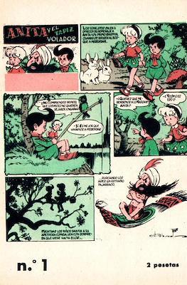 Anita y el tapiz volador