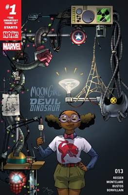 Moon Girl and Devil Dinosaur (Comic-book) #13