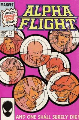 Alpha Flight Vol. 1 (1983-1994) (Comic Book) #12