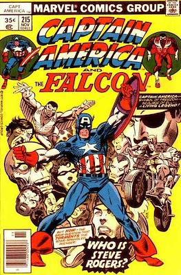 Captain America Vol. 1 (1968-1996) (Comic Book) #215