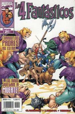 Los 4 Fantásticos Vol. 3 (1998-2001). Heroes Return #21