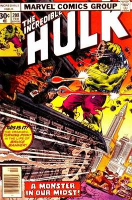 The Incredible Hulk Vol. 1 (1962-1999) (Comic Book) #208