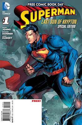 Free Comic Book Day: Superman Last son of Kyrpton (2013)