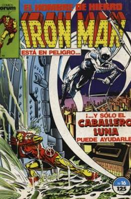 Iron Man Vol. 1 / Marvel Two-in-One: Iron Man & Capitán Marvel (1985-1991) (Grapa, 36-64 pp) #16