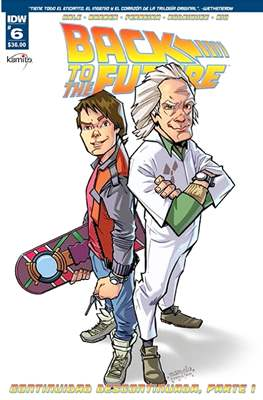 Back to the Future (Grapa) #6