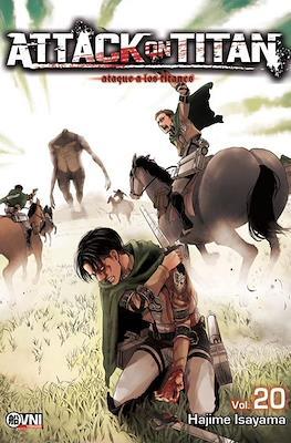 Attack on Titan (Rústica con solapas) #20