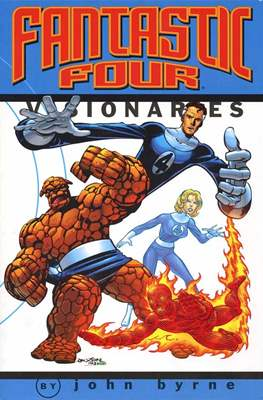 Fantastic Four Visionaries: John Byrne (Softcover) #1