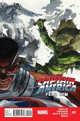 All-New Captain America: Fear Him (2015) #2