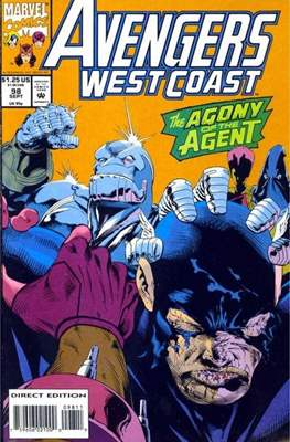 West Coast Avengers Vol. 2 (Comic-book. 1985 -1989) #98