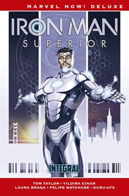 Iron Man superior Marvel now deluxe