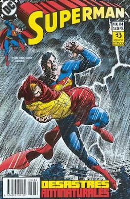 Superman: El Hombre de Acero / Superman Vol. 2 (Grapa 36 pp) #84