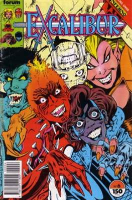 Excalibur Vol. 1 (1989-1995) (Grapa) #6