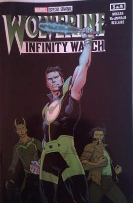 Wolverine Infinity Watch (Grapa) #5