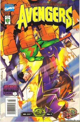 Los Poderosos Vengadores Avengers (Grapa) #3