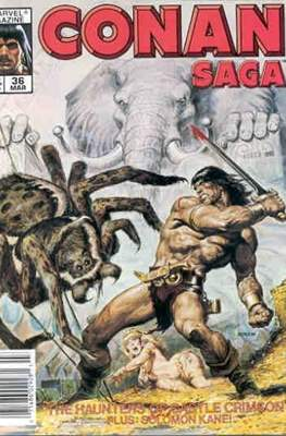Conan Saga (Comic-book) #36