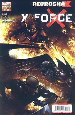 X-Force Vol. 3 (2008-2011) (Grapa, 24-48 pp) #22